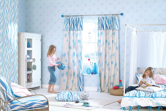 Curtain for girl room